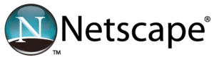 Netscape logo 2005-2007, still used in some po...