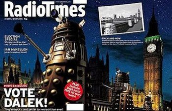 The Radio Times for 30 April–6 May 2005 covere...
