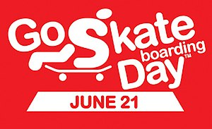 Go Skateboarding Day Logo