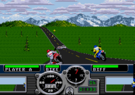Road Rash for the Sega Mega Drive