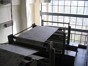 A picture from the top of the Geoman Press at ...