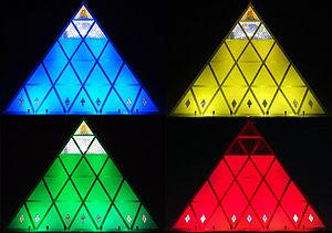 Astana pyramid at night.jpg