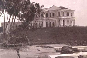 The governor's palace, Mount Lavinia, Sri Lanka