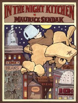 In the Night Kitchen cover by Sendak