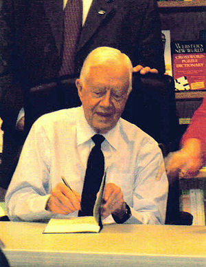 Carter at a book signing in Phoenix, Arizona