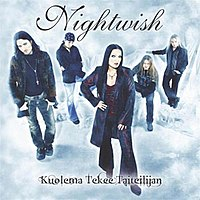 CD of Nightwish single Kuolema Tekee Taiteilijan (Death Makes an Artist)