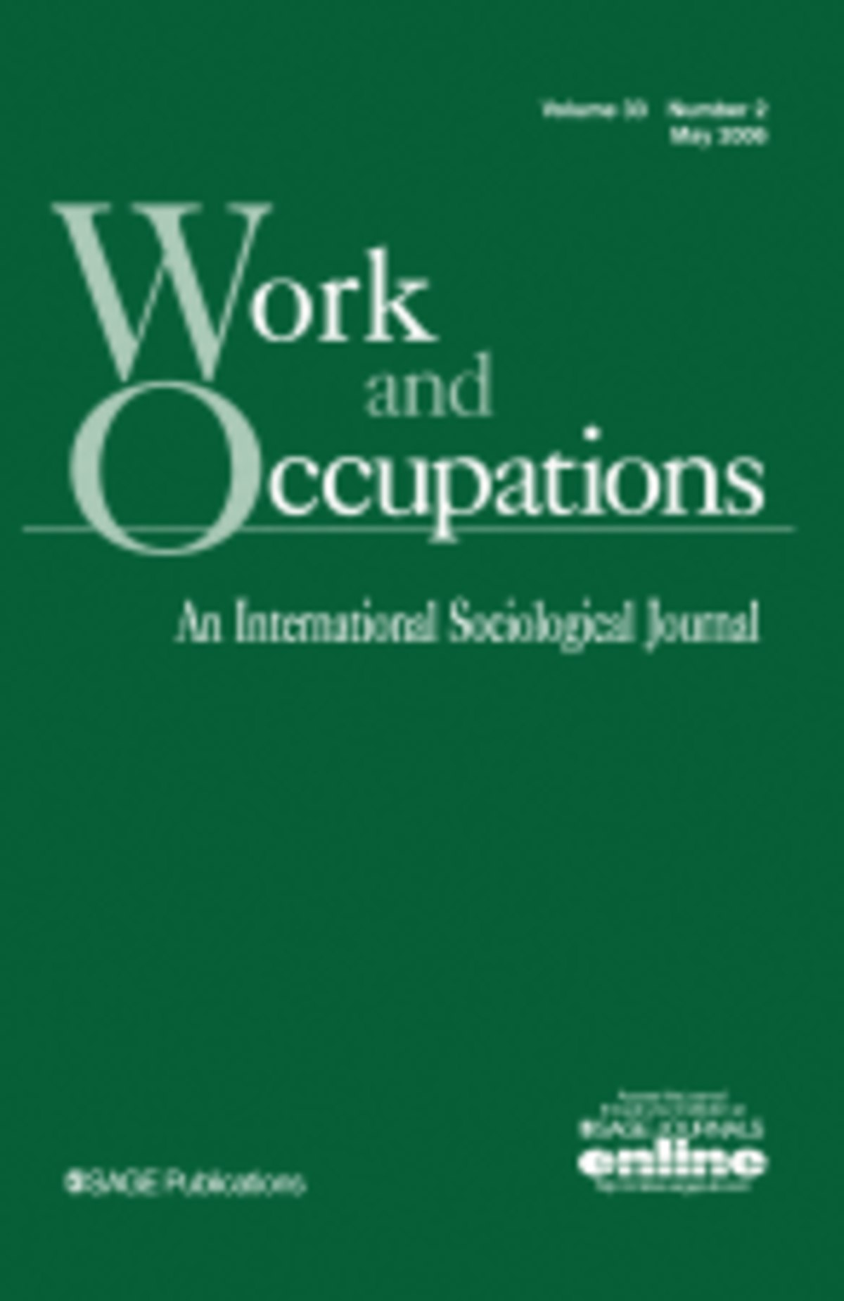 Work And Occupations