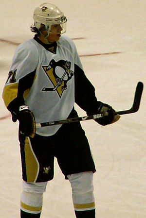 Evgeni Malkin in St. Louis on November 1, 2008.