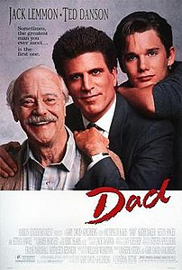 Film poster for Dad - Copyright 1989, Universa...