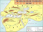 The world according to Herodotus, 440BCE