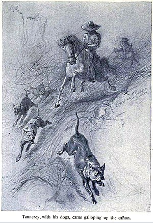 Illustration from Ernest Thompson Seton's Wild...