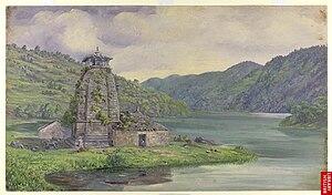 "Bhim Tal Kumaon, India. July 30, 1878."" O..."