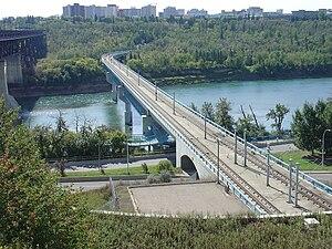 Dudley B. Menzies Bridge (LRT and pedestrian b...