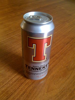 Can of Tennent's Lager