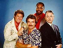 The Cast of Magnum P.I. - Larry Manetti as  Or...