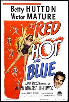 Poster Of The Movie Red Hot And Blue Jpg