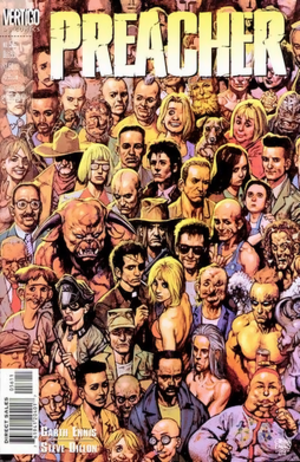 Preacher #56, cover by Glenn Fabry