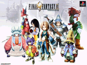 The main playable characters of Final Fantasy ...