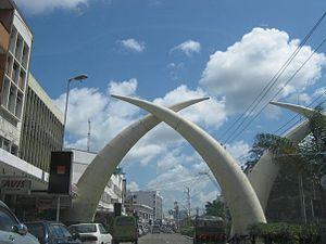 Moi Avenue in Mombasa