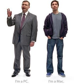 The two characters from the ads who personify ...