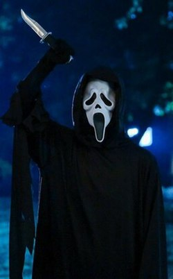 Ghostface An Intimidating Disguise For The Film Series Antagonists In Hiding