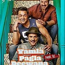 Yamla Pagla Deewana - Phir Se - 2018 Movie Poster.jpg