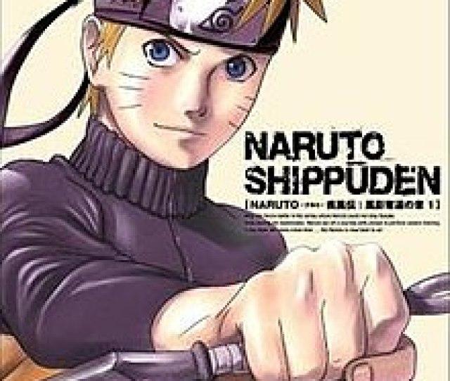 A Dvd Cover Of Naruto Uzumaki Holding A Kunai