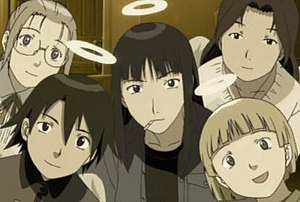 Senior residents of Old Home in the anime. Clo...