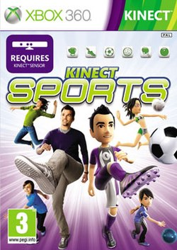 Kinect Sports game cover