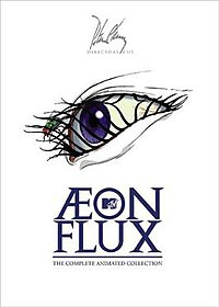Cover of Æon Flux DVD box set (2005).