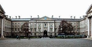 Parliament Square, Trinity College, Dublin.