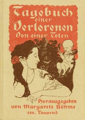 Tagebuch einer Verlorenen (book)