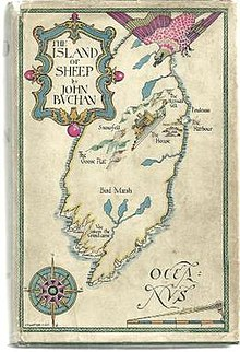 Jacket cover of The Island of Sheep