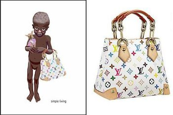 """""""Simple Living"""" image (left) and Vui..."""