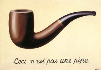 Magritte The Treachery of Images provides a cl...