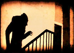 Shadow of Count Orlock, in the film Nosferatu