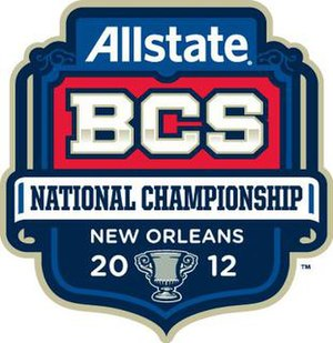 2012 BCS National Championship Game