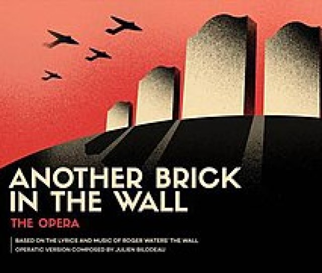 Another Brick In The Wall The Opera Original Art Jpg