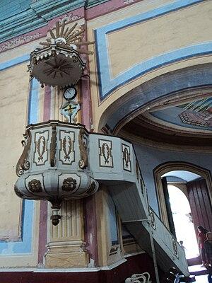 Basilica pulpit