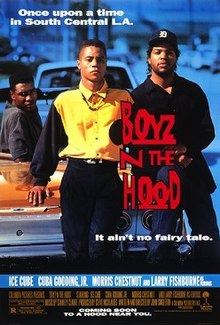 Boyz in the Hood image on satirical blog post.