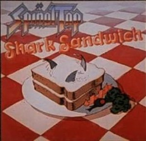 The cover for Shark Sandwich, one of the band'...