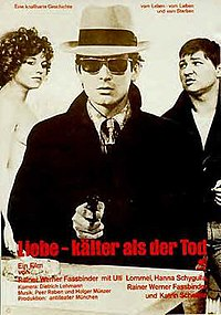 German is such a spitty, menacing language. At all times Fassbinder makes the dialog sound like theyre talking about kicking my moms ass!