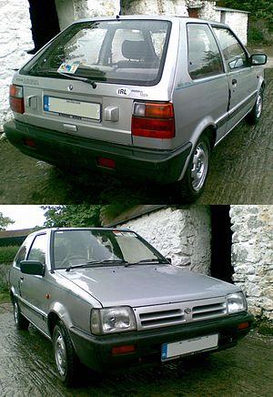 1990 Nissan Micra L K10 ; May 2010