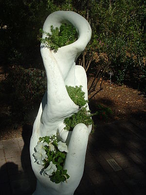 The Mother Earth sculpture, found in the Botan...