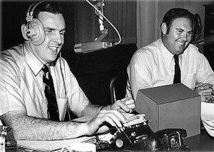 Ed Walker (l) and Willard Scott, The Joy Boys ...