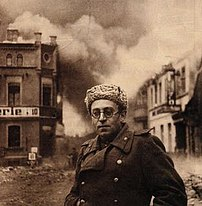 Vasily Grossman with the Red Army in Schwerin, Germany (1945)