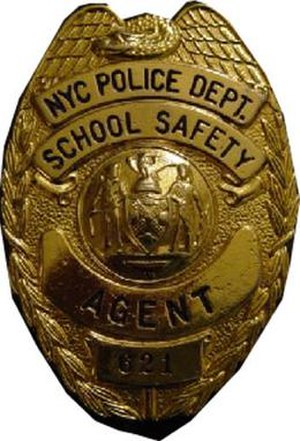 NYPD School Safety badge
