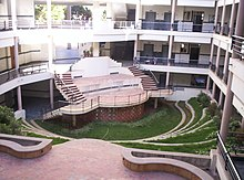 A photograph of Electrical Sciences Block