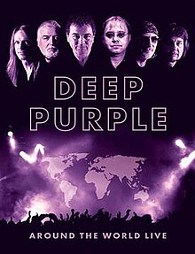 Deep Purple - Around The World Live DVD