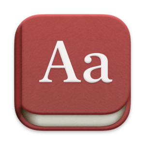Dictionary (software)